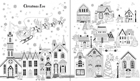 Christmas patterns to colour [3]