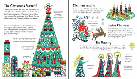 Christmas patterns to colour [1]