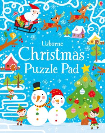 Christmas puzzles pad [0]