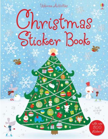 Christmas sticker book [0]