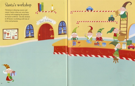Christmas sticker book [3]