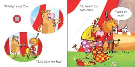 Cow takes a bow [3]