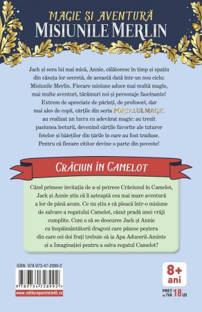Crăciun în Camelot. Portalul Magic-Misiunile Merlin nr. 1 [1]