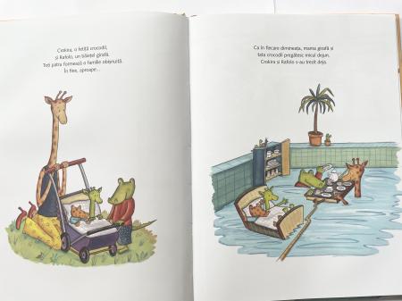 Crocodilul și girafa – o familie absolut obișnuită [4]