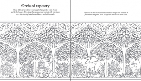 Decorative arts patterns to colour [3]