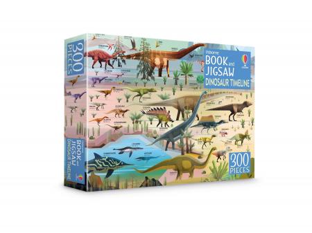Dinosaur Timeline Book and Jigsaw [0]