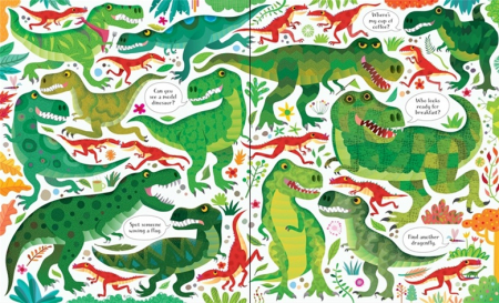 Dinosaurs puzzle book and jigsaw [1]