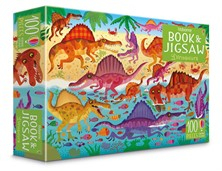 Dinosaurs puzzle book and jigsaw [0]