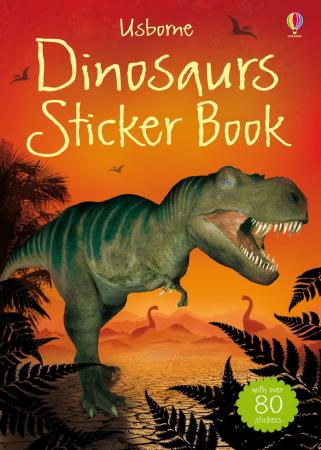 Dinosaurs sticker book [0]