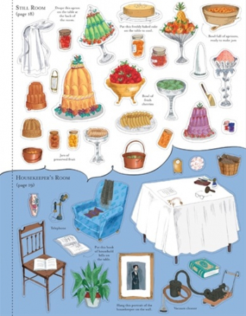Doll's house sticker book: Country house [4]