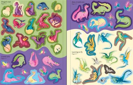 Dragons Sticker Book [3]