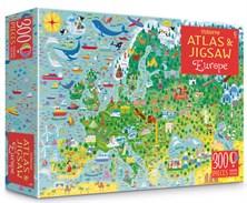 Europe atlas and jigsaw [0]
