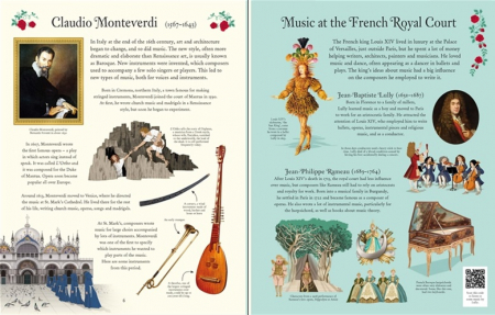 Famous composers picture book [3]