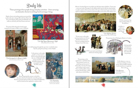 Famous paintings picture book [2]