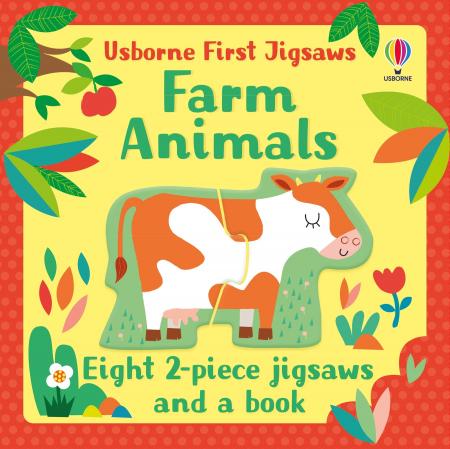Farm Animals Usborne First Jigsaw [5]