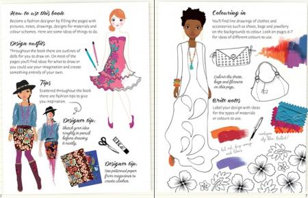 Fashion designer activity book [1]