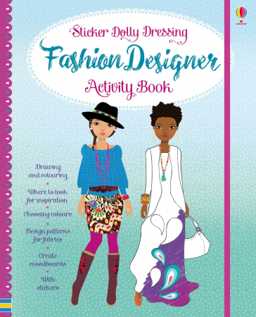 Fashion designer activity book [0]