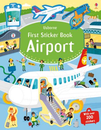 First Sticker Book Airport [1]