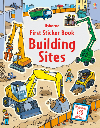 First sticker book Building sites [0]