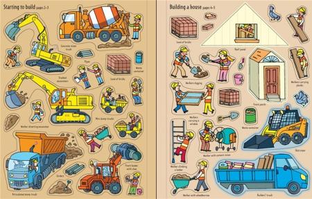 First sticker book Building sites [3]