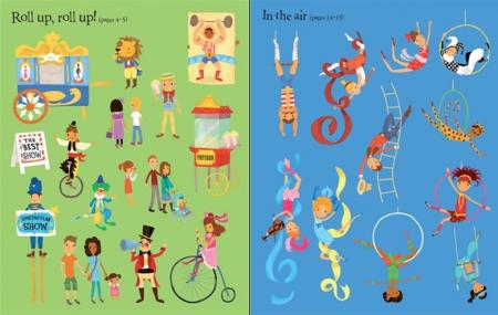 First sticker book Circus [3]