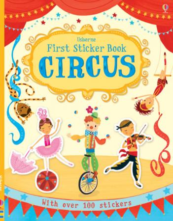 First sticker book Circus [0]