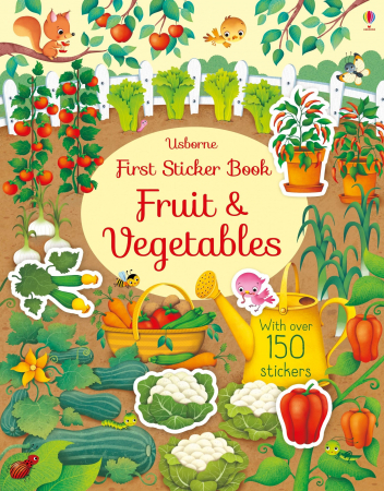 First sticker book Fruit and vegetables [0]