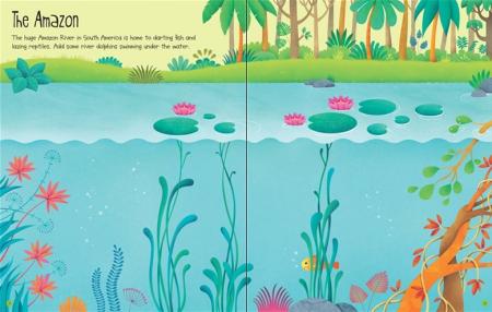 First sticker book Jungle [2]