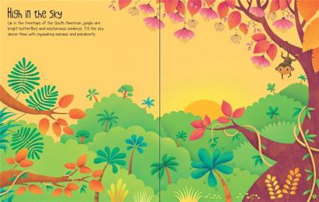 First sticker book Jungle [3]
