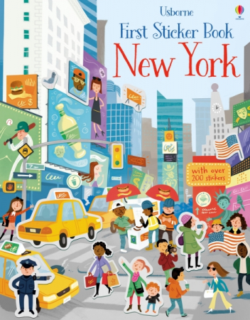 First sticker book New York [0]