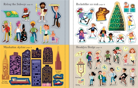 First sticker book New York [3]