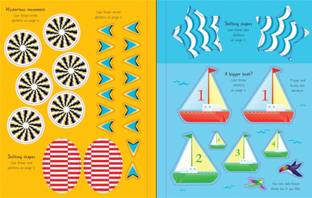First Sticker Book Optical Illusions [3]