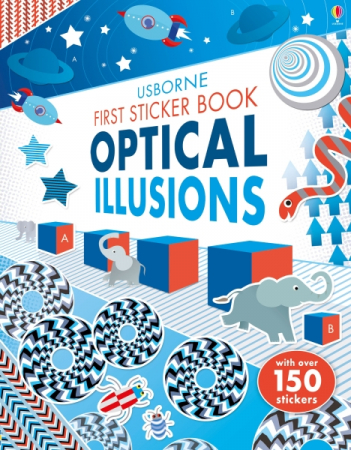 First Sticker Book Optical Illusions [0]