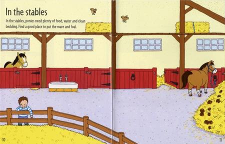 First sticker book Ponies [3]
