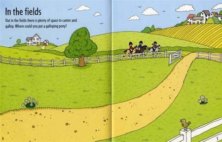 First sticker book Ponies [1]