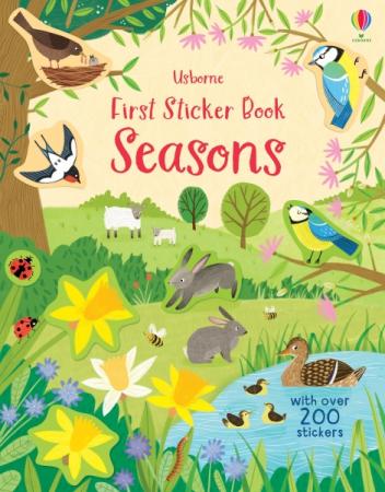 First Sticker Book Seasons [0]