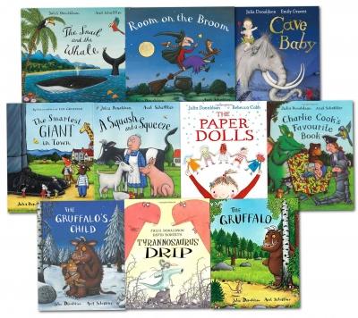 Julia Donaldson Picture Book Collection 10 Books Set [2]