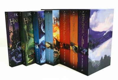 Harry Potter Boxed Set by J K Rowling  [2]