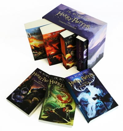 Harry Potter Boxed Set by J K Rowling  [1]