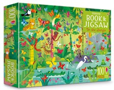 In the jungle puzzle book and jigsaw [0]