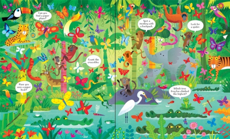 In the jungle puzzle book and jigsaw [1]