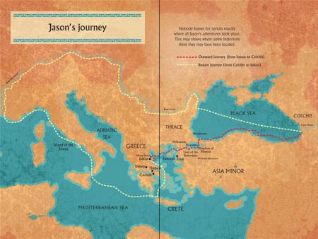 Jason and the Argonauts graphic novel [2]