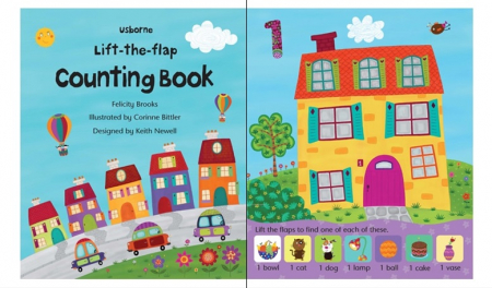Lift-the-flap counting book [1]