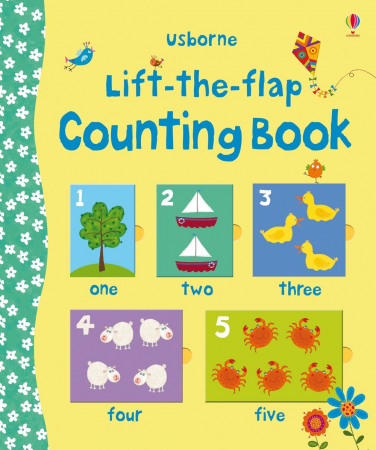 Lift-the-flap counting book [0]