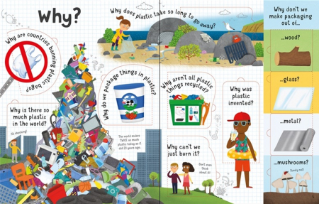 Lift-the-Flap Questions and Answers About Plastic [2]