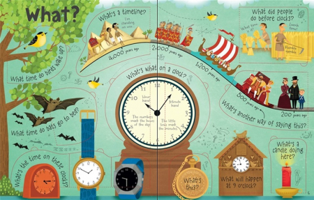 Lift-the-flap questions and answers about time [1]