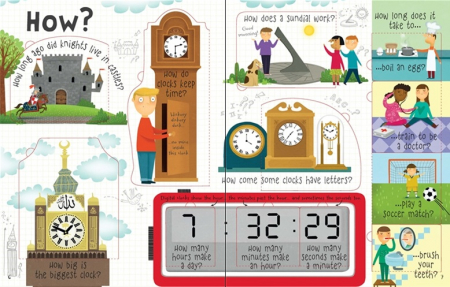 Lift-the-flap questions and answers about time [2]