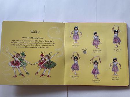 Little ballerina dancing book [3]