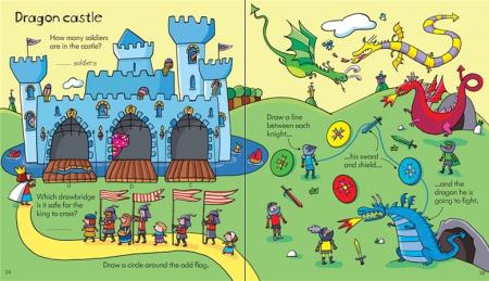 Little children's activity book [3]