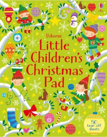 Little children's Christmas pad [0]